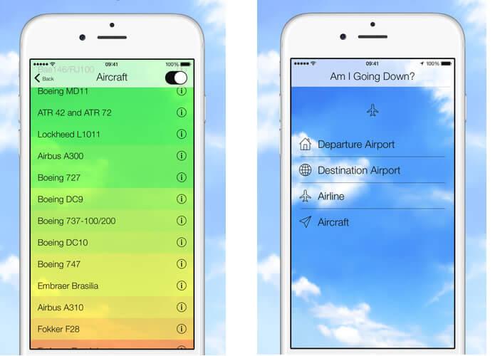 évaluer les risques d'écrasement de votre avion
