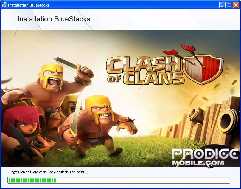 Installation de Bluestacks
