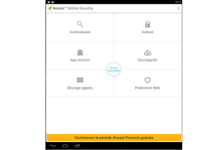 Antivirus Norton Mobile