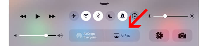 Airplay sur iPad