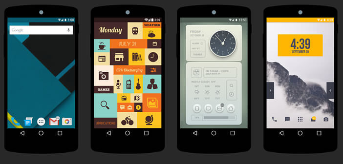 Themer : thèmes pour smartphone Android