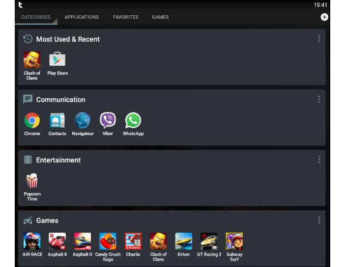 Themer : classeur pour applications