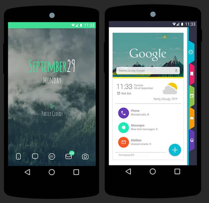 300 thèmes pour Android