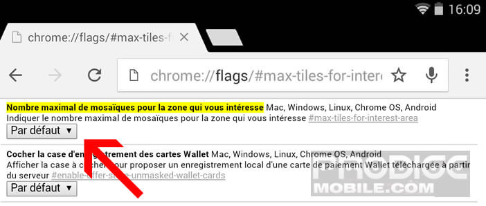 Mémoire vive de Google Chrome