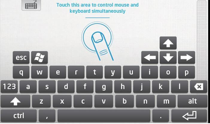 Transformer un smartphone Android en clavier et souris virtuel
