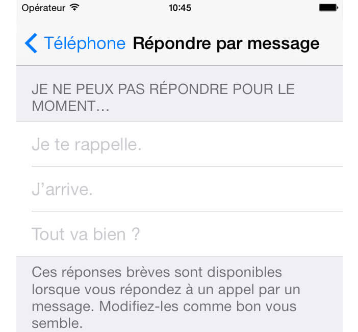Creer Un Sms Automatique Sur L Iphone