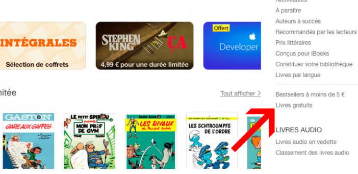 Livres gratuits sur iBooks Store