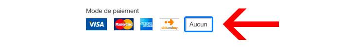 Mode paiement iTunes
