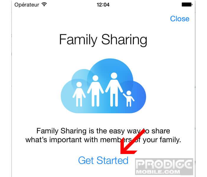 Membres  partage familial