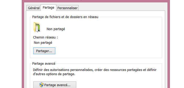 Partage fichiers PC avec Android