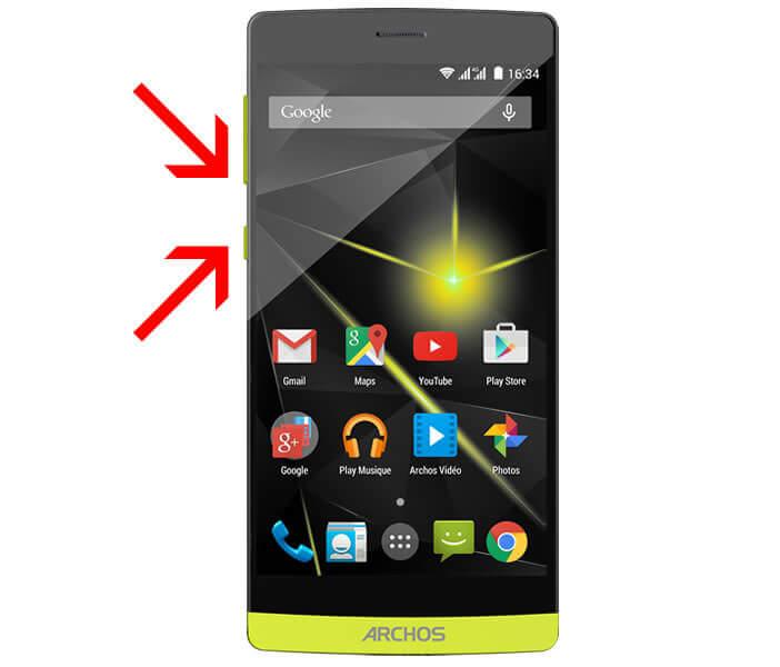 Réaliser une capture d'écran sous Android