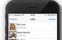 Ajouter la photo de vos contacts sur l'écran d'accueil de l'iPhone