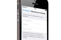 Créer un SMS automatique sur l'iPhone