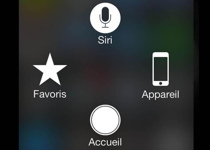 Bouton accueil de l'iPhone