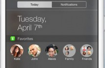 iPhone: ajouter vos contacts favoris au centre de notifications