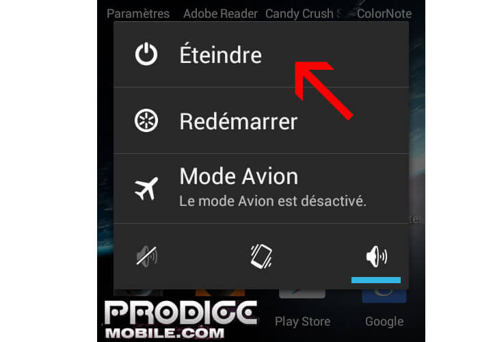 how to change safe mode in samsung mobile