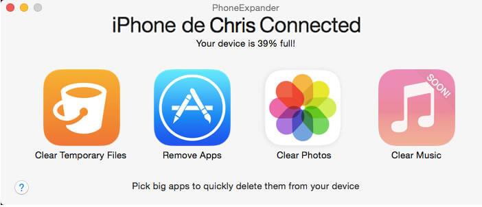 Phone Expander: libérer espace de stockage