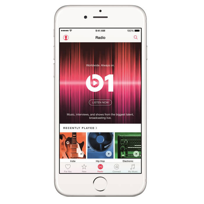 Apple Music sur iPhone