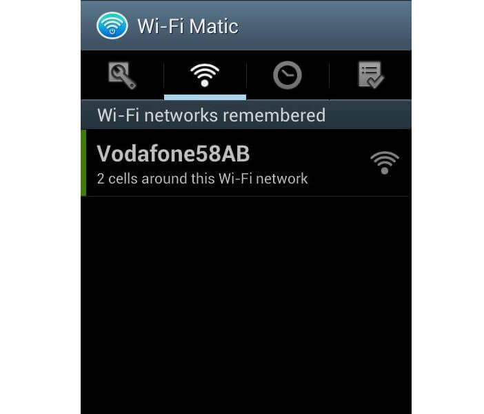 Wi-Fi Matic: supprimer réseau Wi-Fi