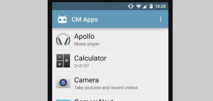 Installer les applis de CyanogenMod sans rooter son téléphone
