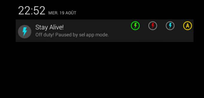 Bloquer la mise en veille de l'écran d'un smartphone Android