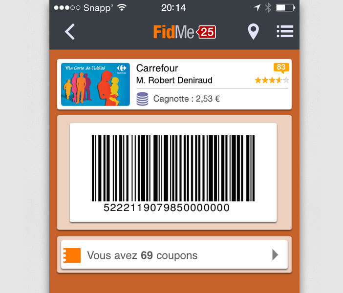 carte de fidelite carrefour code. Black Bedroom Furniture Sets. Home Design Ideas