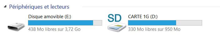Lecteur carte SD sur Android