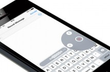 Envoyer un message vocal depuis l'iPhone