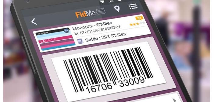 Application FidMe - Carte de fidélité