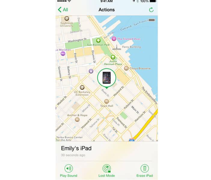 Retrouver un iPhone perdu