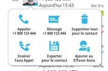 Effacer automatiquement vos SMS et l'historique de vos appels