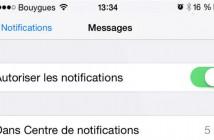 Masquer les aperçus de SMS sur l'écran de verrouillage de l'iPhone