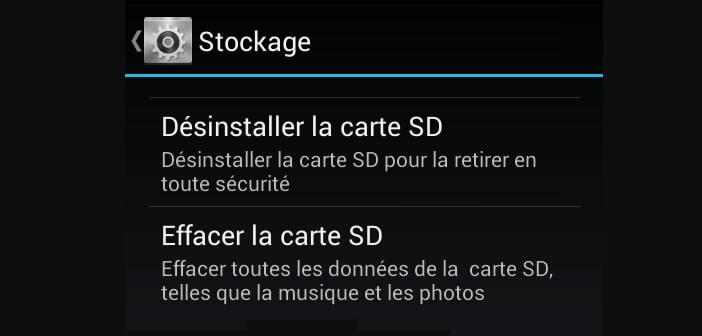 Bien utiliser une carte microSD avec son smartphone Android
