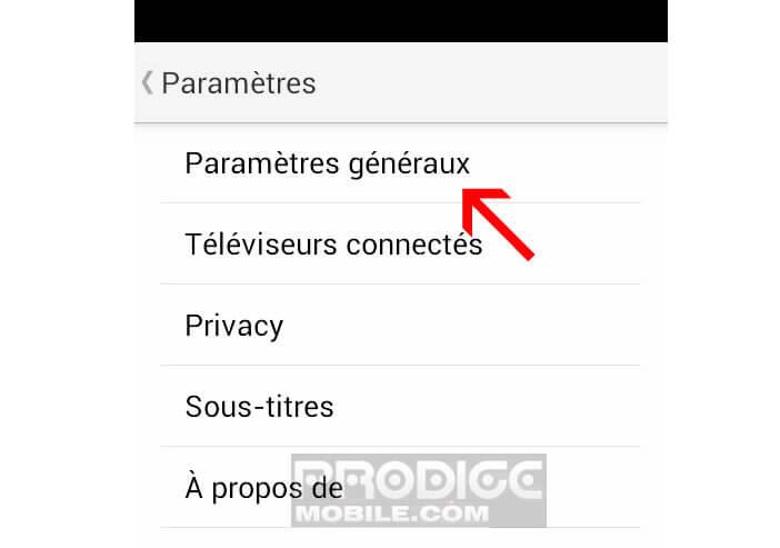 YouTube: économiser données mobiles