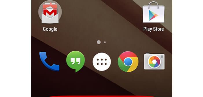 activer le mode plein écran sur Android