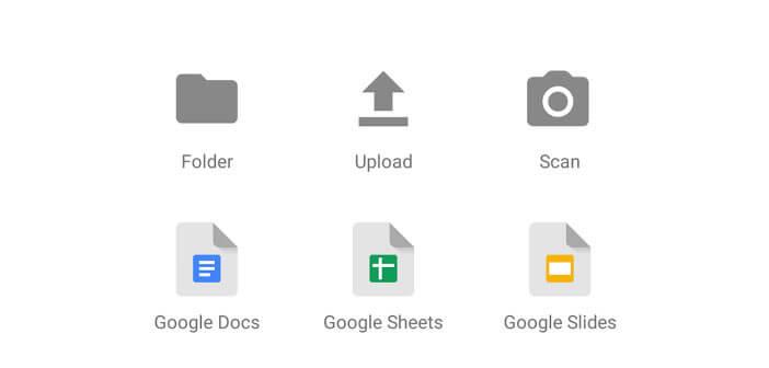 Numériser un document depuis Android
