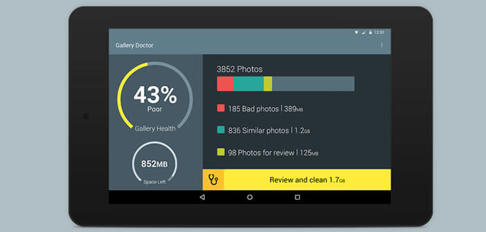 Gallery Doctor: tri automatiquement des photos sur Android