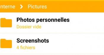 Cacher vos photos personnelles sur Android
