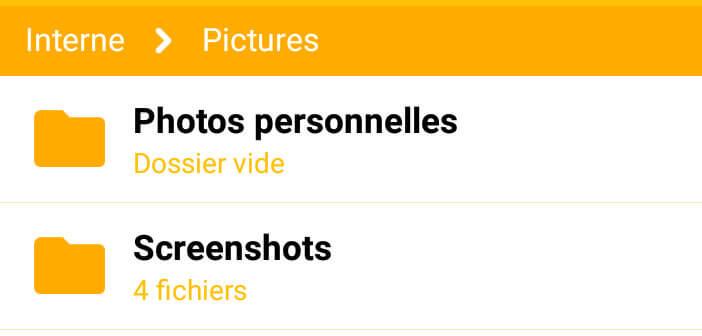 Cacher vos photos personnelles sur Android