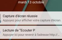 Masquer les notifications sur l'écran verrouillé d'Android