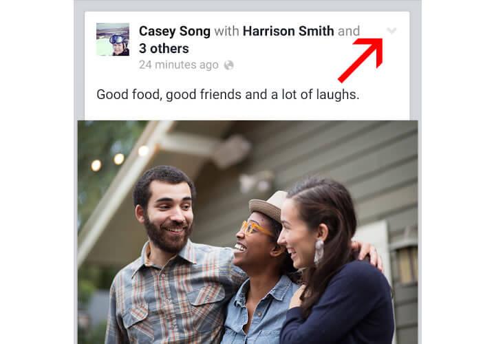 Procédure pour masquer les notifications Facebook