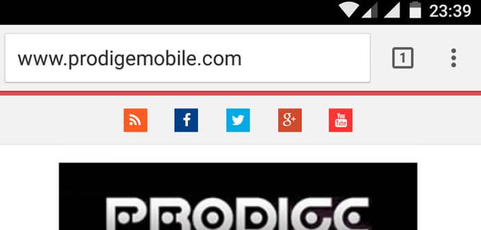 Activer le mode lecteur sur Chrome
