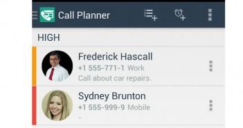 Planifier vos appels téléphoniques avec Call Planner