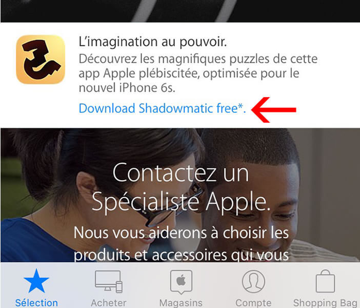 Télécharger gratuitement Shadowmatic depuis l'application Apple Store