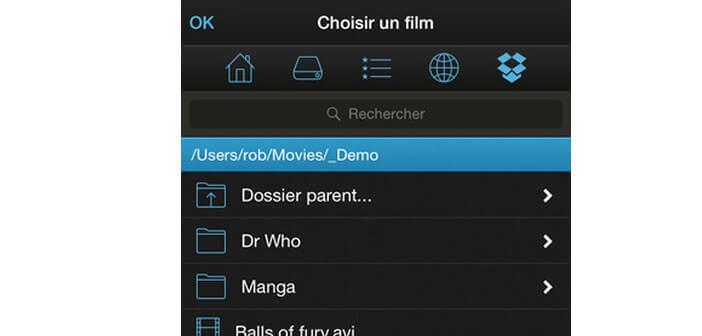 Regarder un film stocké sur son ordinateur depuis son iPhone