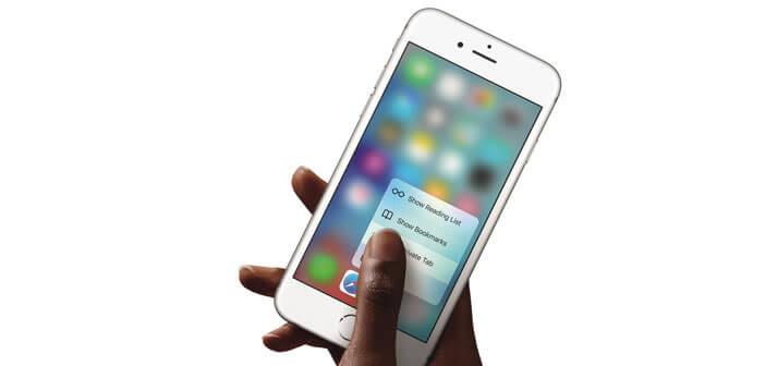 Configurer la fonction 3D Touch de l'iPhone