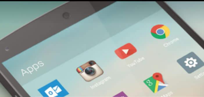 Arrow launcher, lanceur d'applis pour Android