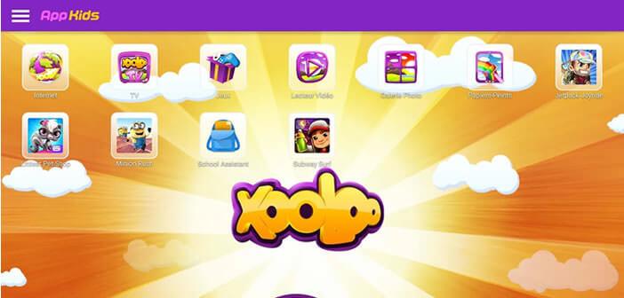 Xooloo application de contrôle parental pour Android