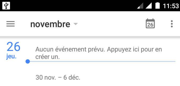 Retrouvez vos évènements Facebook sur votre agenda Android