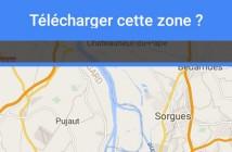Profiter du mode hors-ligne de Google Maps